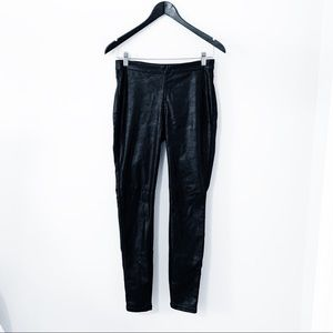 BLANK NYC Black Faux Leather Pants